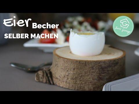 Eierbecher aus Holz selber machen | Upcycling | DIY | selber bauen | Anleitung | How to