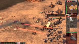 Command & Conquer 3 Tiberium Wars - Brutal AI Skirmish Match (HD)