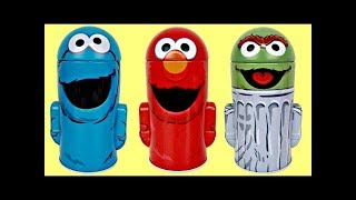 Sesame Street Coin Money Banks for Kids with Elmo, Cookie Monster & Oscar