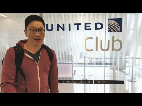 United Club at LAX: Largest United Club in the US! (Star Alliance)