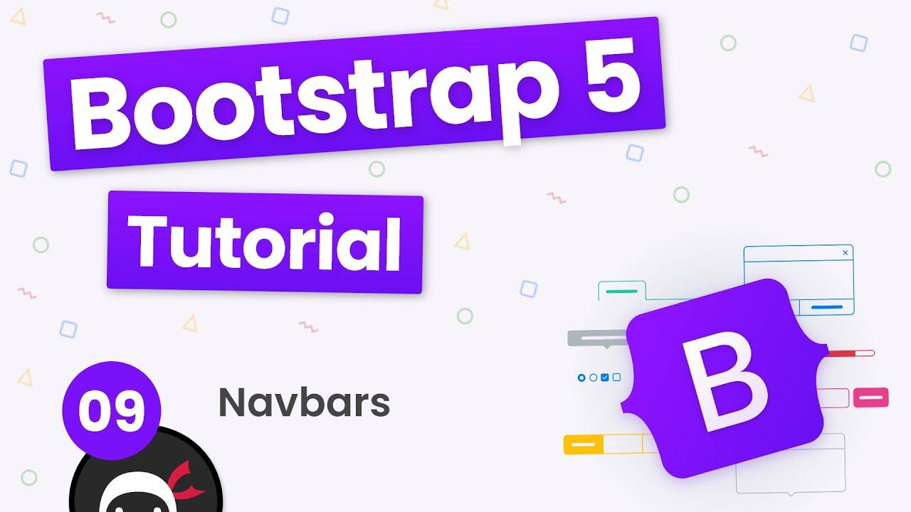 Bootstrap 5 Crash Course Tutorial #9 - Navbars