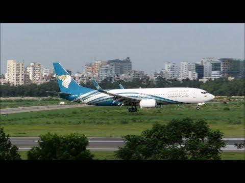 [HD] Plane Spotting @ Hazrat Shahjalal International Airport, Dhaka: Episode-75