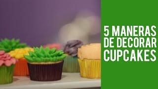 Como Decorar Cupcakes