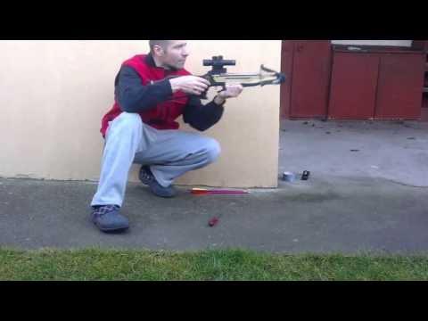 Shooting Barnett Commando 30 meters
