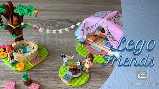 Lego Friends - 41392 - Camping in Heartlake City - Zeitraffer (time lapse)