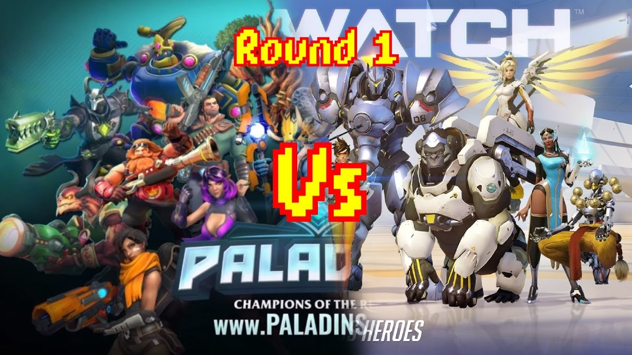 Overwatch vs Paladins characters comparison...different flavours both still pizza # ...