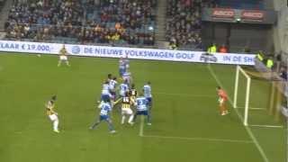 Vitesse Arnhem - PEC Zwolle 31.03.2013 goal Mike Havenaar 2-0