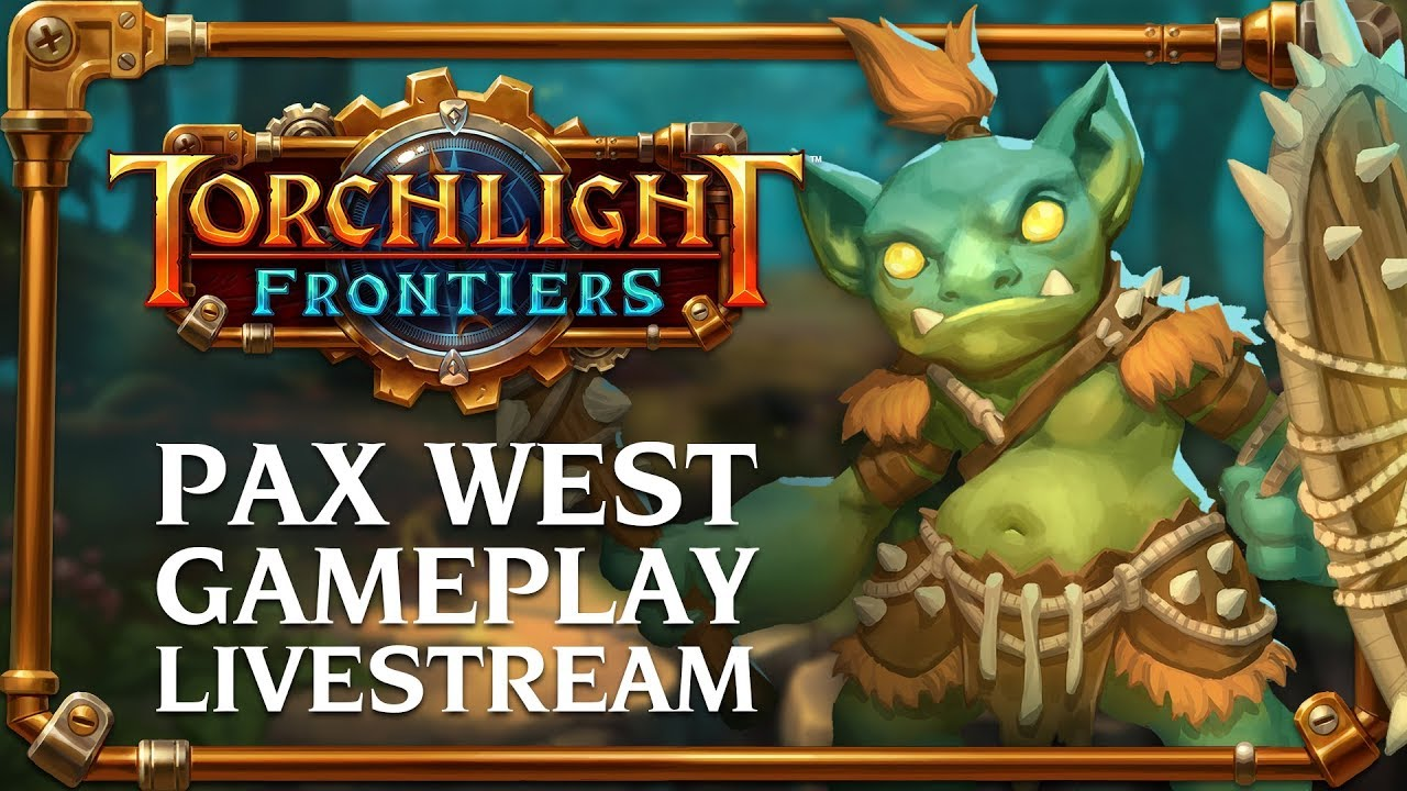 Разработчики грядущей Torchlight Frontiers показали 40 минут геймплея