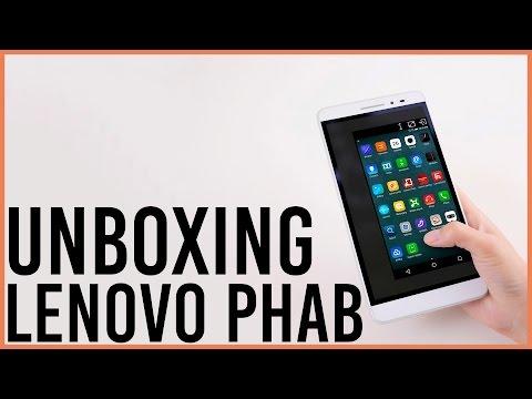 Unboxing Lenovo PHAB Phablet 6.9 Pulgadas