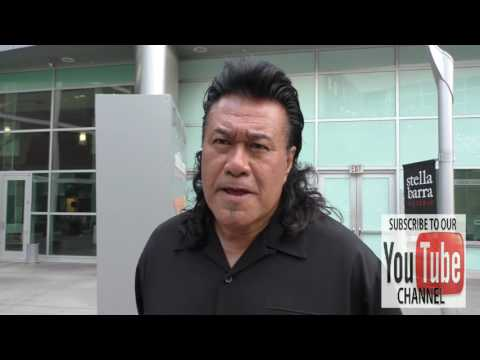 Branscombe Richmond talks about his new Showtime TV Series Roadies outside ArcLight Theatre in Holly