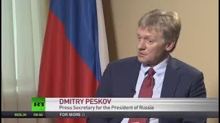No rules count for those willing to bring Russia down – Kremlin spokesman (FULL INTERVIEW)