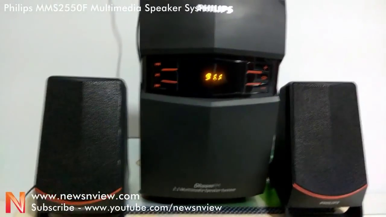 philips mms 2550f multimedia speaker system demo review youtube rh youtube com Philips Transport Monitor Philips X2 Monitor