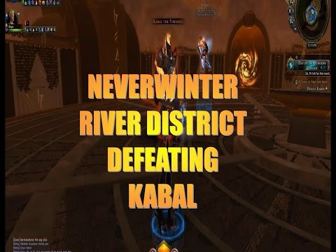 Neverwinter River District Defeating KABAL with A KILLER TR Enyo of Chronic Legion