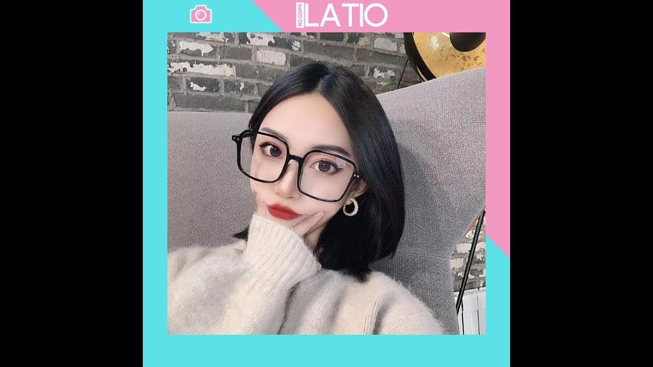 Mắt kính thời trang giả cận đẹp trong suốt gọng kính vuông cao cấp LATIO K5 | Tóm tắt các thông tin liên quan kính thời trang chính xác