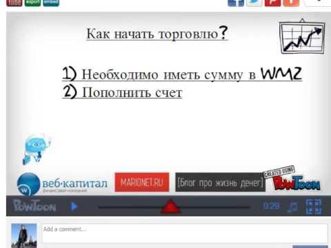 Как заработать на вебмани. Заработок на бирже indx ru