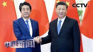 [中国新闻] 习近平会见日本首相安倍晋三 | CCTV中文国际