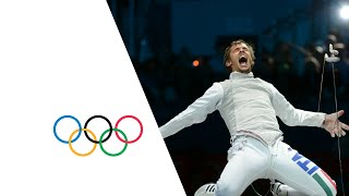 Italy Win Men's Fencing Team Foil - London 2012 Olympics