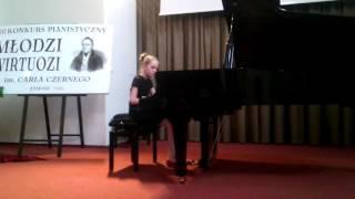 К Черни Этюд Op 299 Nr 5 Буряковская Алиса 11 лет