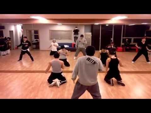 kim hyun joong break down dance practice youtube