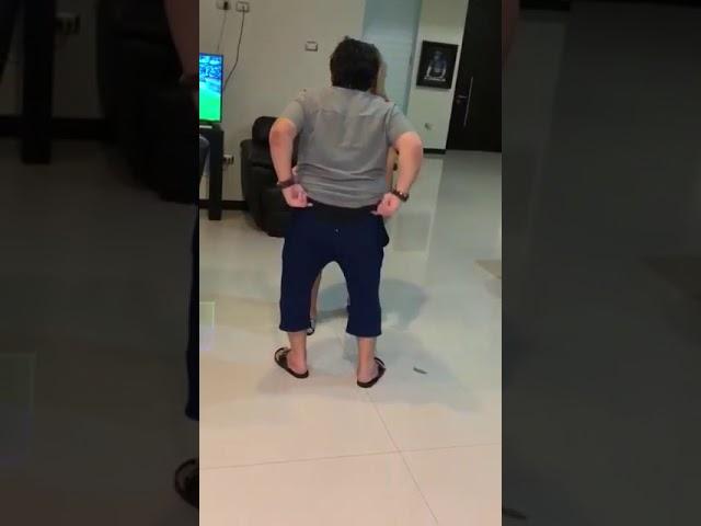 Diego Armando Maradona bailando con una ex pareja del diez.