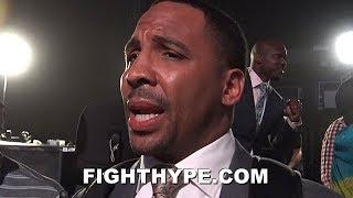 "ANDRE WARD VOUCHES FOR TERENCE CRAWFORD STRENGTH AT 147; TALKS CRAWFORD VS. SPENCE ""50/50"" CLASH"