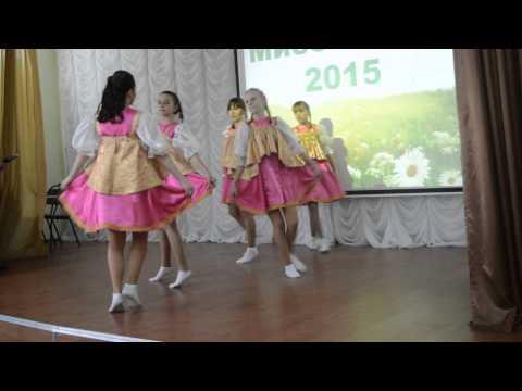 Пермогорская роспись - русский народный костюм для девочки