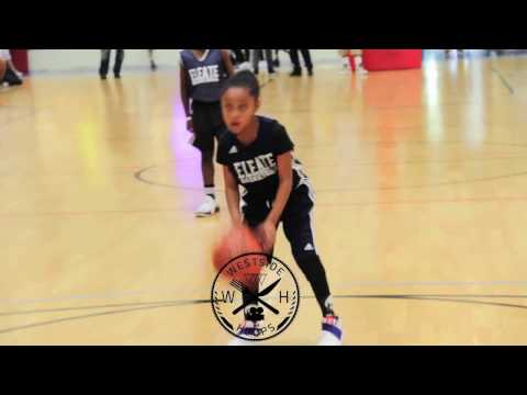 8 year old Kaleena Smith Aka Special K Has Uconn Girls basketball Talent All Ready