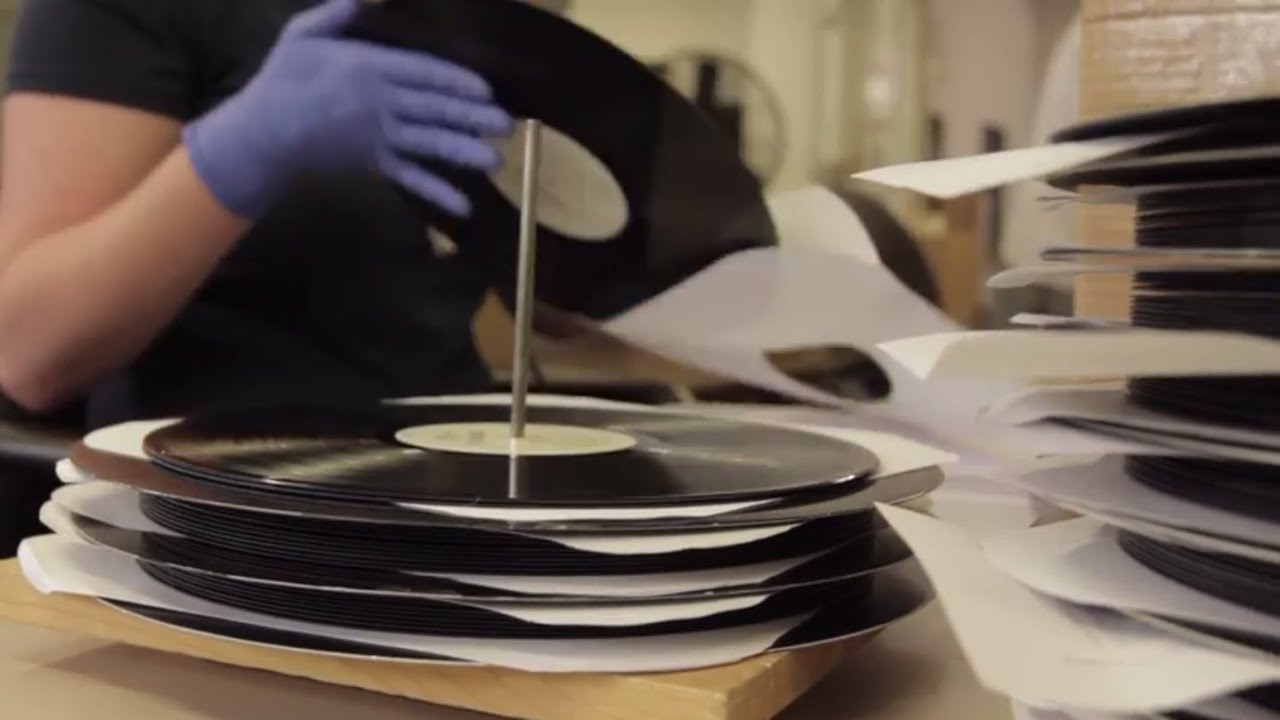 Vinyl Record Pressing Reintroduced at Disc Makers - YouTube