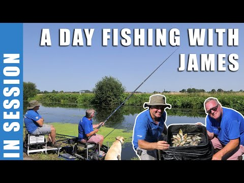 A Day Fishing With James On The Staniforth & Keadby Canal