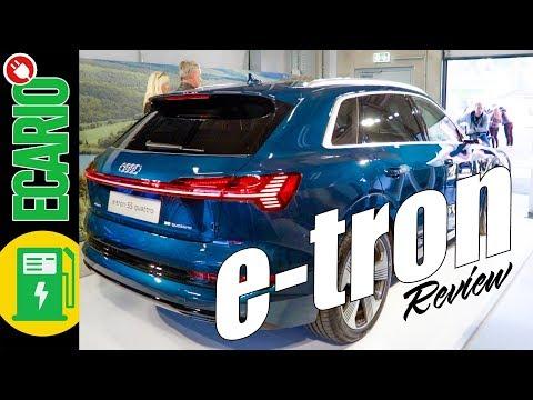Audi etron 55 quattro ► Wir zeigen euch den FRUNK und alles andere im Review