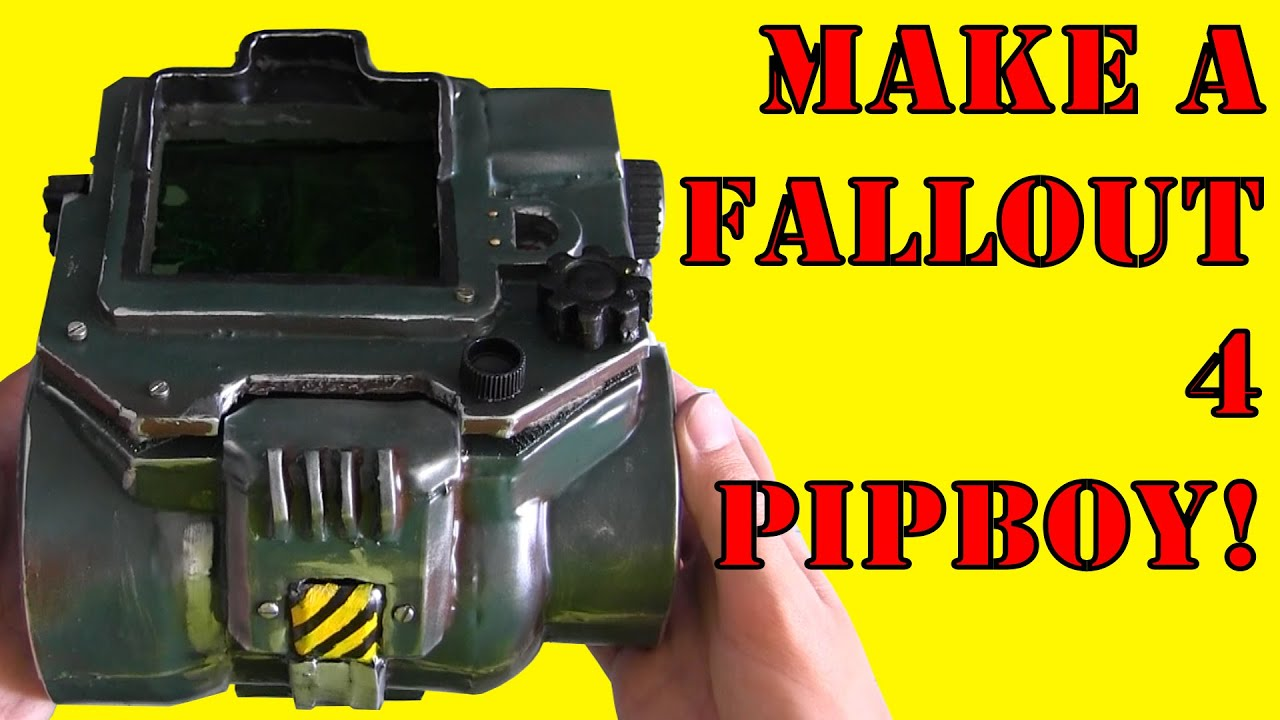 How to make a fallout 4 pip boy diy youtube solutioingenieria Image collections