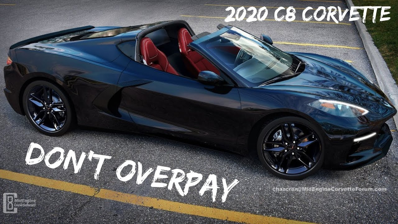 Pricing On The 2020 C8 Mid Engine Corvette Prevent Price