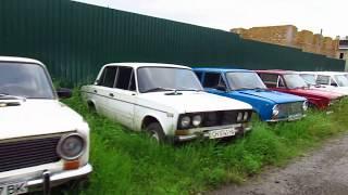 Брошенные авто СССР