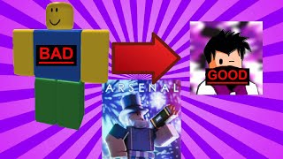 from bad to good   ROBLOX Arsenal (mobile)