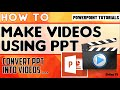 How To Convert Powerpoint To Video? 2020