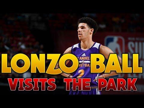 Lonzo Ball Visits MyPark in NBA 2K17!