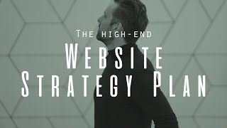 Website Strategy Plan - Selling High-end Coaching without SEO or Advertising.