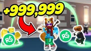 ¡STEALING PEOPLE'S CASH! ROBLOX CASH GRAB SIMULATOR! (Introducción al nuevo juego) ROBLOX JAILBREAK
