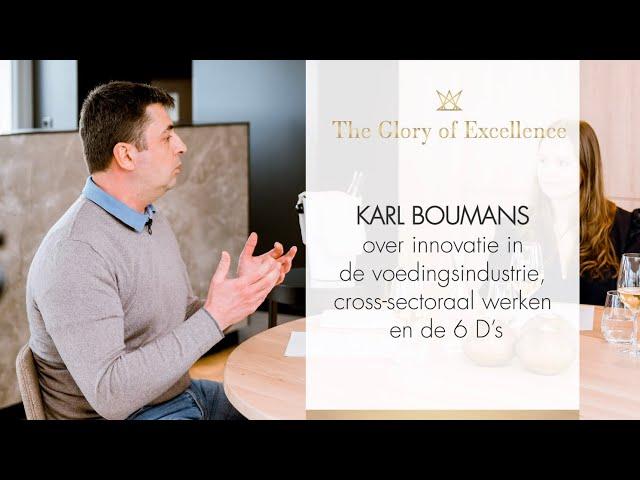 #5 Karl Boumans over innovatie in de voedingsindustrie, cross-sectoraal werken en de 6 D's