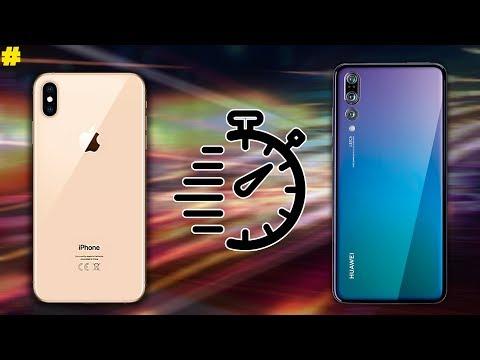 Apple iPhone Xs/Xs Max vs Huawei P20 Pro Speed Test!