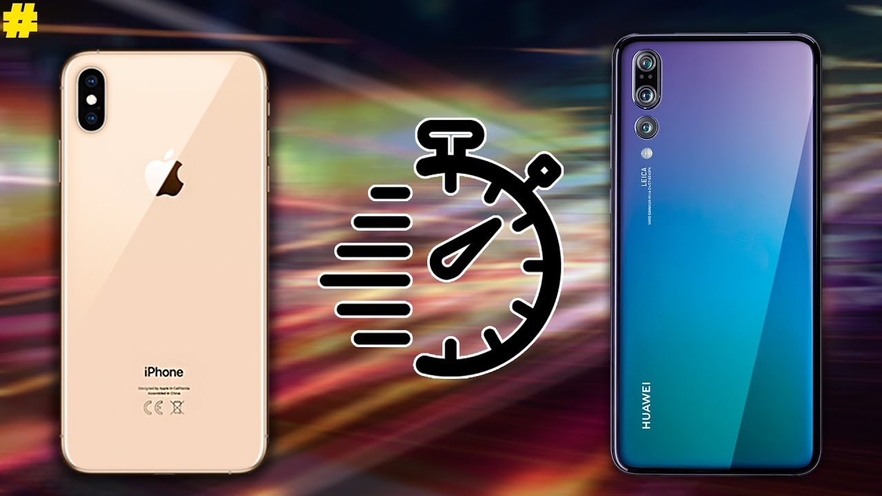 Huawei p20 pro vs iphone xs
