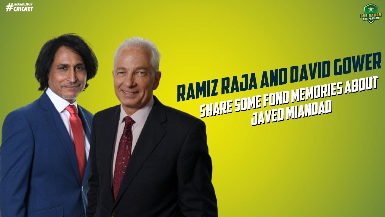 Ramiz Raja and David Gower share some fond memories about the birthday boy Javed Miandad.