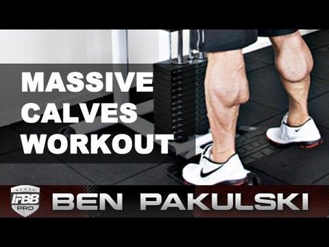 Ben Pakulski Calf Workout (Massive Calves)