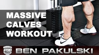 Ben Pakulski Calf Workout (massive Calves)