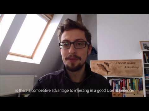 Jonathan Courtney, Senior User Experience Designer (UX)