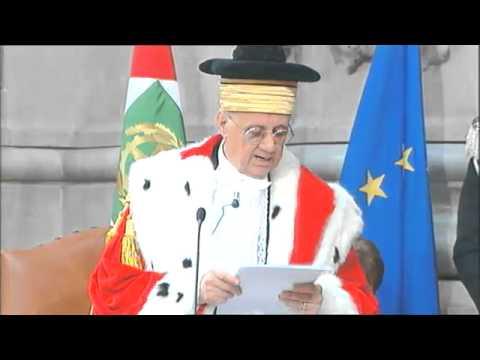L'apertura dell'anno giudiziario 2014 in Corte di Cassazione con la Cancellieri e Napolitano