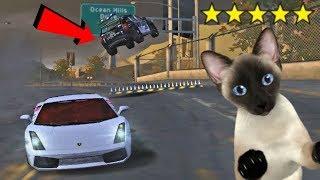Яки Коли, Полиция и Котка! - NFS MOST WANTED #12