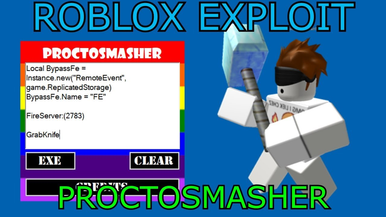 New Roblox Exploit Hack Proctosmasher Full Lua Executor W