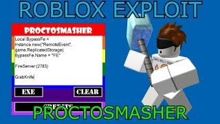 [NEW] ROBLOX EXPLOIT/HACK | PROCTOSMASHER - FULL LUA EXECUTOR w/MEGA FE SCRIPS AND MORE!