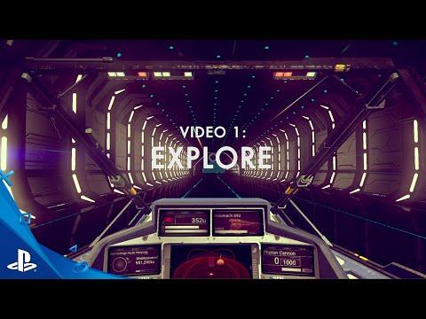 No Man's Sky - EXPLORE Trailer | PS4